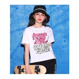 【ANAPGiRL】グラフィティロゴTシャツ (ホワイト(001))