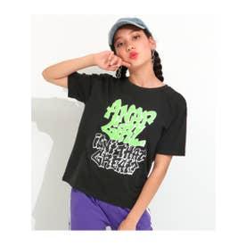 【ANAPGiRL】グラフィティロゴTシャツ (ブラック(027))