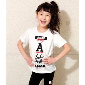 【ANAPKIDS】ロゴマークTシャツ (ホワイト(001))