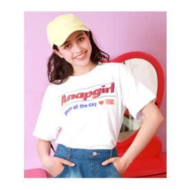 【ANAPGiRL】バックスピンドルドルマントップス (ホワイト(001))