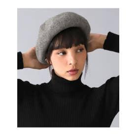 ウールシンプルバスクベレー帽 (グレー(006))