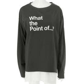 プリントロンT+Tシャツセット(アッシュブラック)