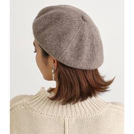 ウールベレー帽(モカ)
