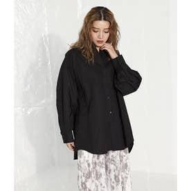 バックデザインシャツ(ブラック)