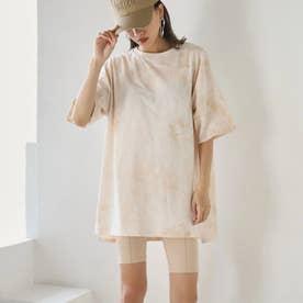 タイダイオーバーサイズTシャツ(オレンジ)