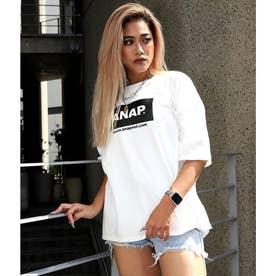 ANAPロゴオーバーサイズTシャツ(オフホワイト)