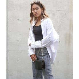 オーバーサイズシャツ(ホワイト)
