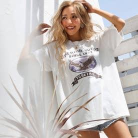 イーグルTシャツ(ホワイト)
