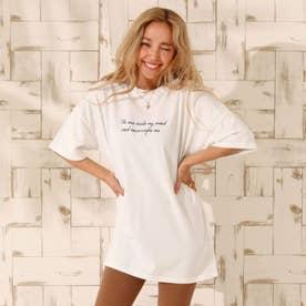 プリントTシャツ(ホワイト)
