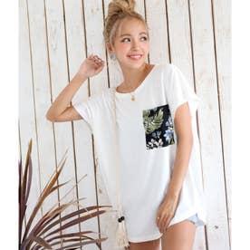 アロハポケットTシャツ(ホワイト)