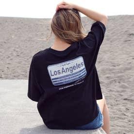 サガラ刺繍プレートTシャツ(ブラック)