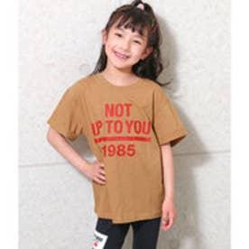 ロールアッププリントBIG-Tシャツ (ホワイト)