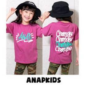 グラフィティロゴTシャツ (ピンク)