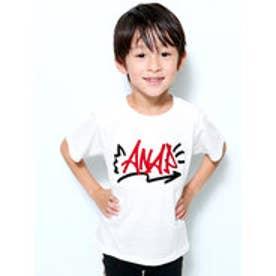 グラフィティロゴTシャツ (ホワイト)