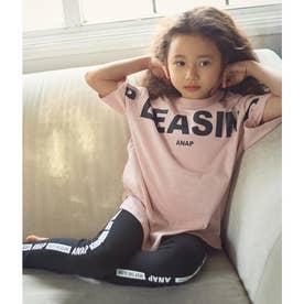 オーガニックTシャツ+レギンスSET(ピンク)