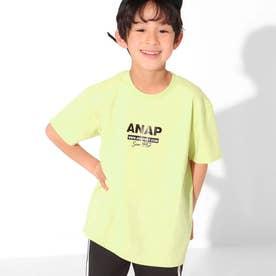 吸水速乾シート転写ビッグTシャツ(ライム)