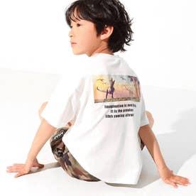 ダイナソーフォトビッグTシャツ(オフホワイト)