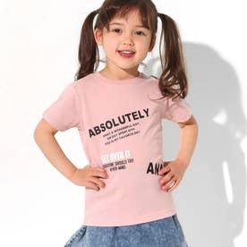 制菌ロゴプリントTシャツ(ピンク)