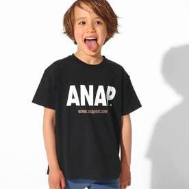ANAPロゴプリントビッグTシャツ(ブラック)