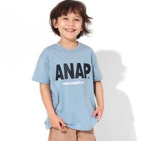 ANAPロゴプリントビッグTシャツ(ライトブルー)