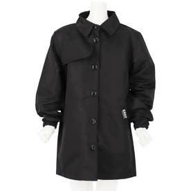 ステンカラーコート(ブラック)