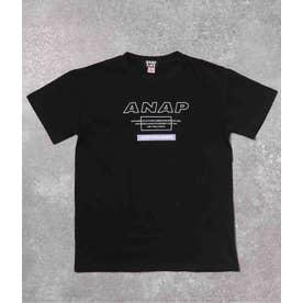 カラーボックスビッグTシャツ(ブラック)