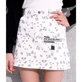 2パターンインパン付スカート(ホワイト)