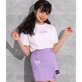 ポケット付&ボックスロゴTシャツ2枚セット(パープル)