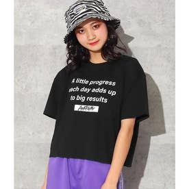 メッセージTシャツ(ブラック)