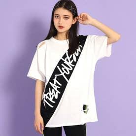 ダメージビッグTシャツ(ホワイト)