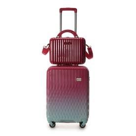 &シュエット スーツケース≪Lunalux≫ 小 レッド