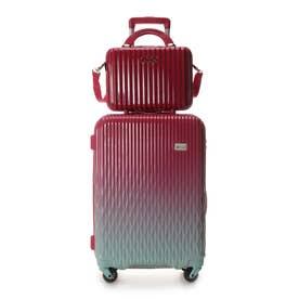 スーツケース≪Lunalux≫ 中 (レッド)