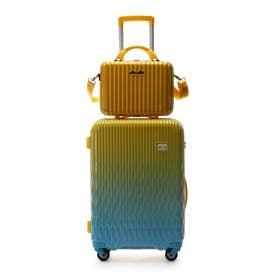 スーツケース≪Lunalux≫ 中 (イエロー)