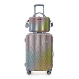 &シュエット スーツケース≪Lunalux≫ 中 マルチカラー