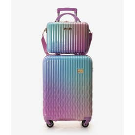 ★スーツケース≪Lunalux≫ 小 (ブルーパープル)
