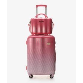 ★スーツケース≪Lunalux≫ 中 (ピンク)