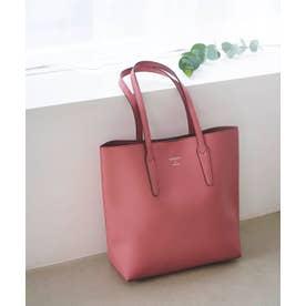 縦型シンプルトート (ピンク)