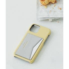 カラーパレットiPhone12ケース (イエロー)