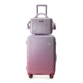 &シュエット スーツケース≪Lunalux≫ 中 ベビーピンク