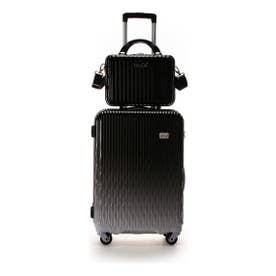 &シュエット スーツケース≪Lunalux≫ 中 ブラック