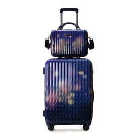 &シュエット スーツケース≪Lunalux≫ 中 ネイビー