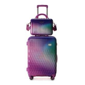 &シュエット スーツケース≪Lunalux≫ 中 ラベンダー