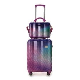 &シュエット スーツケース≪Lunalux≫ 小 ラベンダー