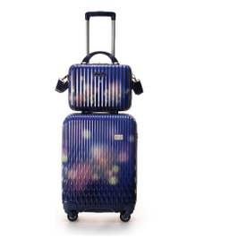 &シュエット スーツケース≪Lunalux≫ 小 ネイビー