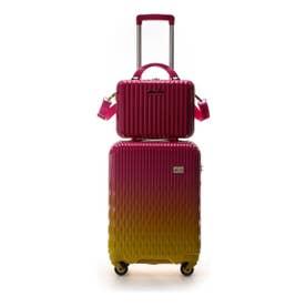 &シュエット スーツケース≪Lunalux≫ 小 フューシャピンク