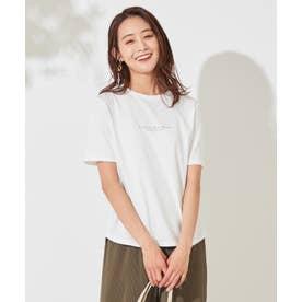 バックプリント Tシャツ (オフホワイト)