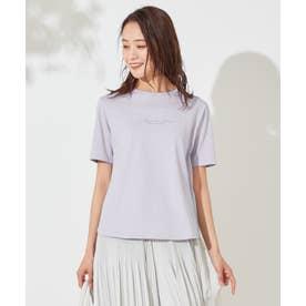 バックプリント Tシャツ (ラベンダー)