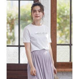 テキストプリント Tシャツ (ホワイト系)