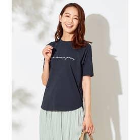 【NAIL HOLICコラボ】ロゴ Tシャツ (ネイビー)