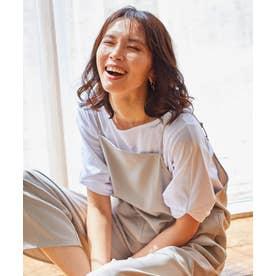 【定番人気】シルケットスムースタックII カットソー (アイボリー系)